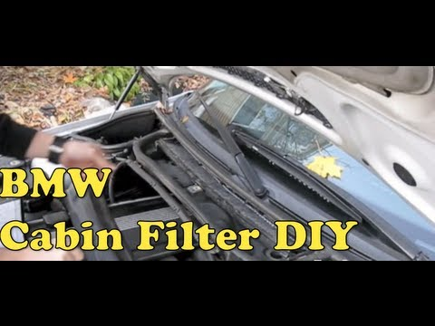 Bmw Cabin Air Filter Replacement E46 3 Series