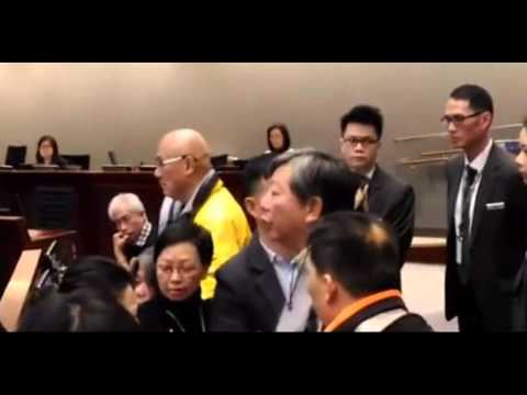 Pro-dem politicians thank pro-Beijing lawmaker for recording LegCo 'injustice'