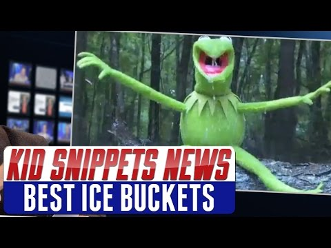 """Kid Snippets News: """"Best Ice Buckets"""" (Imagined by Kids)"""