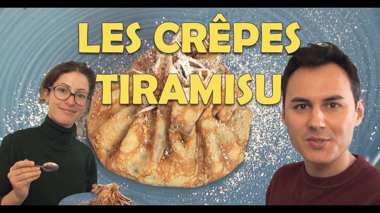 Herv cuisine chez vous des cr pes tiramisu youtube - Youtube herve cuisine ...