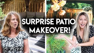 SURPRISE PATIO MAKEOVER **DECORATE WITH ME**