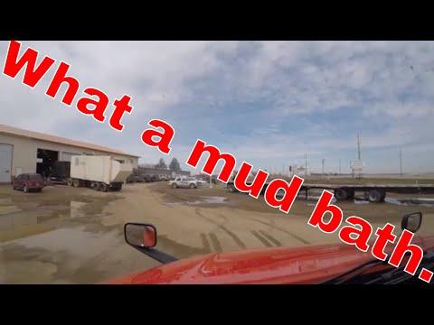 What a mud bath.