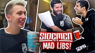 SIDEMEN: FUNNIEST MAD LIBS MOMENTS!