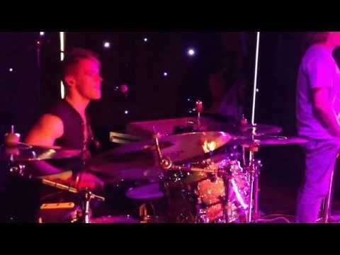 Tim Owen on drums, playing 'Are you gonna go my way' for Danyl Johnson from X-Factor.
