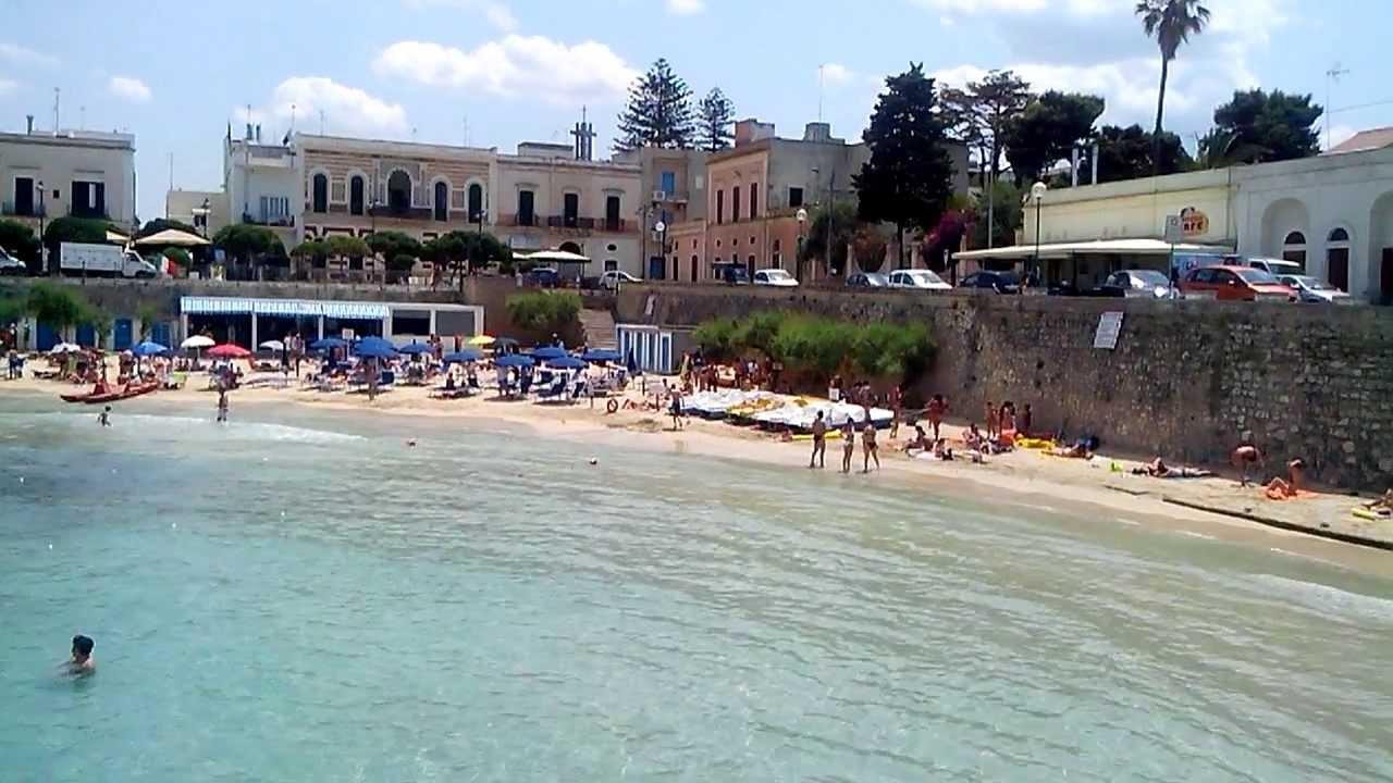 Santa Maria al Bagno Le  La spiaggia  YouTube