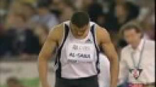 الوثب الطويل حسين السبع العاب القوى السعودية في لقاء زيورخ Athletics GL Hussein Taher Al-Sabee Long jump saudi arabia