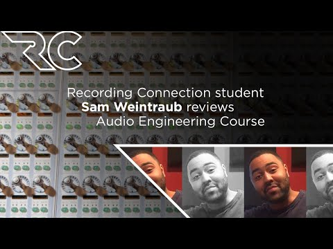 Student Reviews the Recording Connection