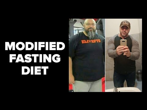 My NEW Modified Fasting Diet Lose Fat, Eat Big