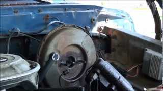 HOW TO REPLACE A BRAKE MASTER CYLINDER PART 1 OF 2 ON THE DROF / FORD LOL !!!