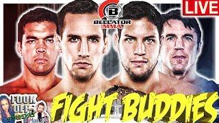 🔴 BELLATOR 222 MACDONALD VS GRACIE + MACHIDA VS SONNEN LIVE FIGHT REACTION!
