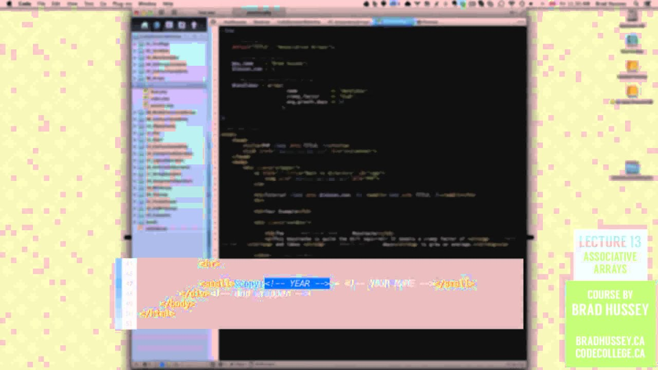 Associative Arrays [#13] Code Dynamic Websites with PHP