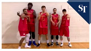 Delvin Goh and teammates talk about the Singapore Slingers' upcoming Asean Basketball League season