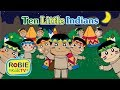Ten Little Indians Nursery Rhymes | Popular Nursery Rhymes for Children