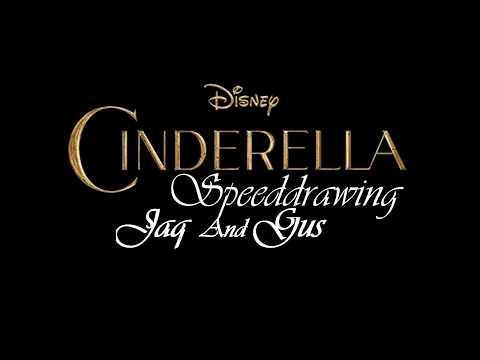 Disney Speeddrawing - Cinderella - Jaq and Gus