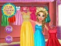 Frozen Elsa Fashion Day Online Dress Up Game - Free Games For Girls