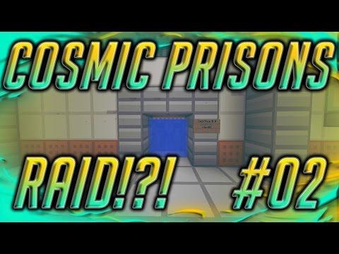 Cosmic Prisons #2   RAID A TIER 3 CELL?!?! (Sahara Planet)