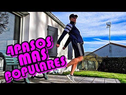 APRENDE LOS 4 PASOS MAS POPULARES DEL MUNDO!!