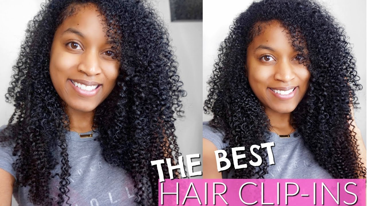 The Most Natural Hair Clip Ins Extensions For Black Womenblending