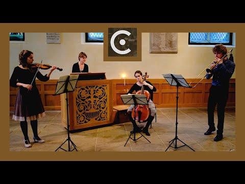 Concerto Primo (Adam Jarzębski) - Castello Consort (live) - [violin, sackbut, basso continuo]