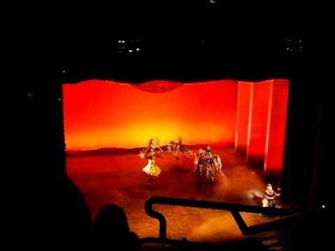 Musicl Rey Leon ( En Londres :D ) Fue Fantastico (L)