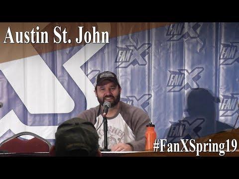 Austin St John - Full Panel/Q&A - FanX Spring 2019