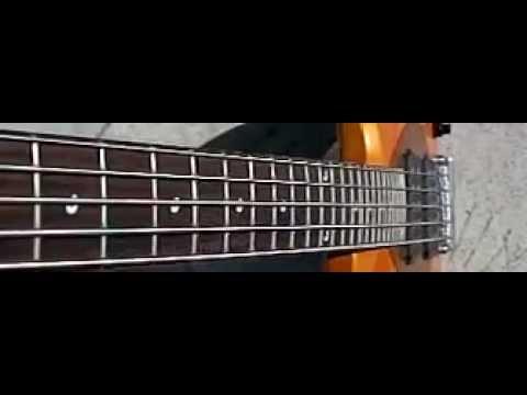 bass guitar strings slow motion 1200 fps youtube. Black Bedroom Furniture Sets. Home Design Ideas