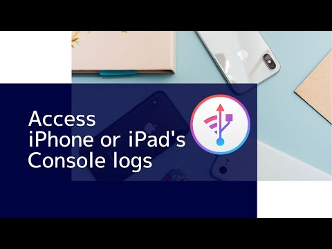 How to Access iPhone or iPad's Console Log