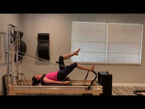 Tower of Power Pilates Reformer Tower workout #1
