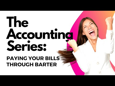 Accounting for Barter: Paying Supplier Through BarterPay