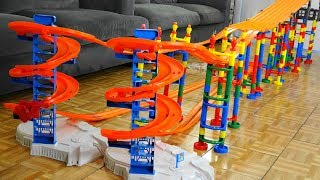 Spiral Ramp Car Race Tournament