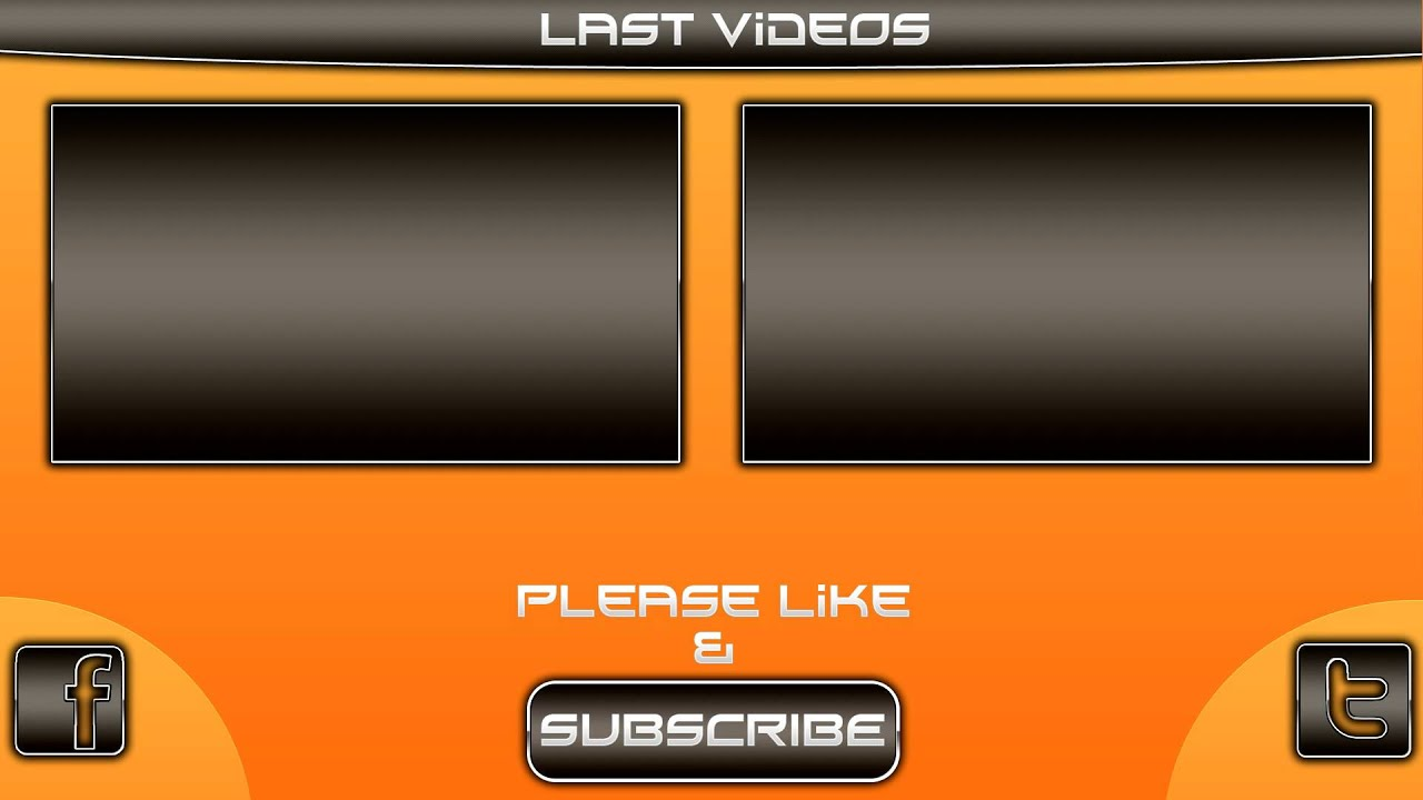 video template free