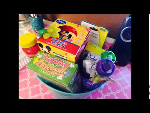 Easter basket for a 1 year old youtube negle Choice Image