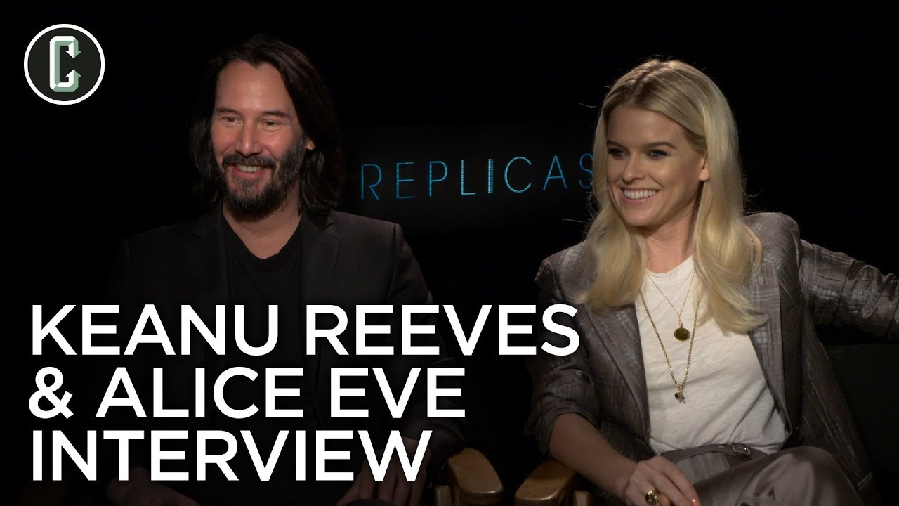 Keanu Reeves & Alice Eve on 'Replicas' and the Last Time They Had to Audition