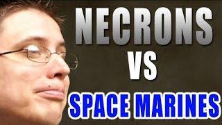 MWG Space Marines vs Necrons Warhammer 40k Battle Report - Beat Matt Batrep Ep 75