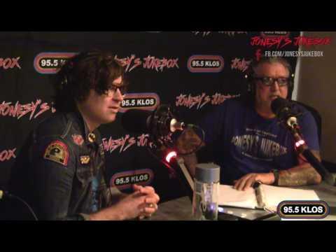 Ryan Adams in-studio on Jonesy's Jukebox