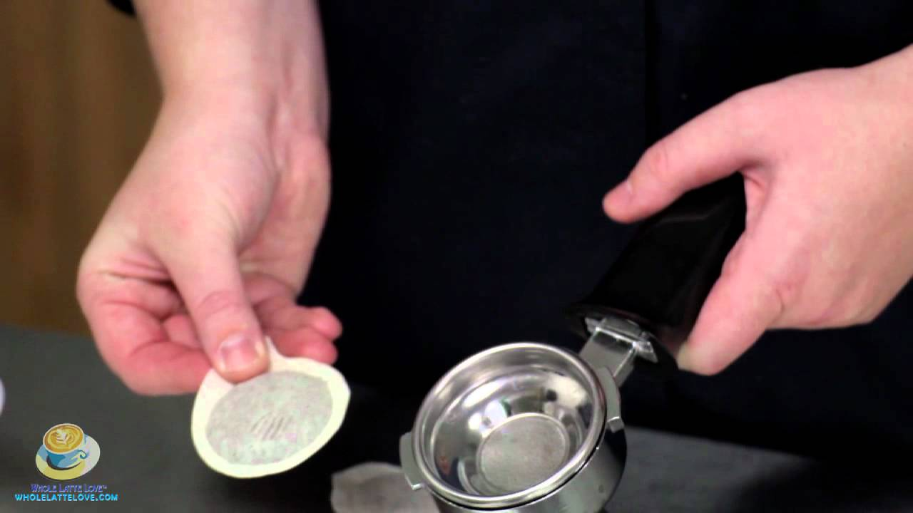 How To Use Pods With A Gaggia Espresso Machine  YouTube