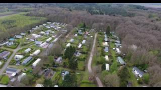Dronebeelden van Camping de Reeënwissel