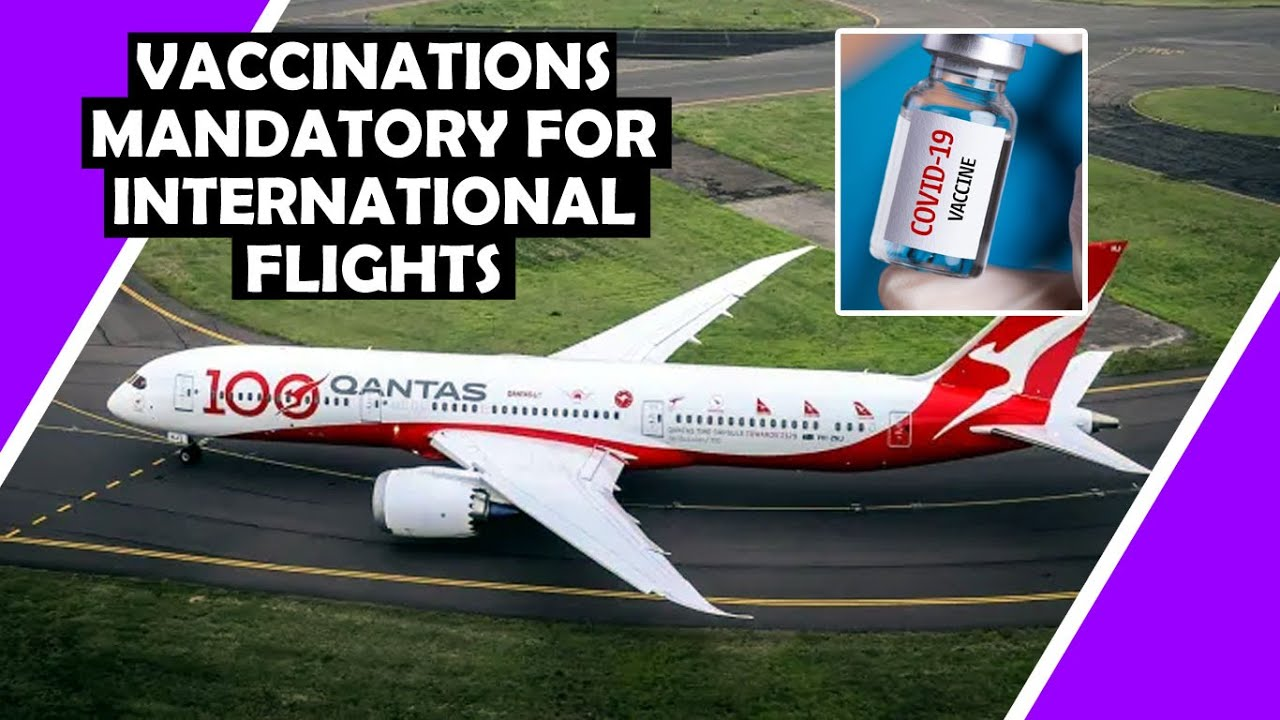 Vaccinations Will Be MANDATORY For ? International Flights, Says Qantas Boss / Hugo Talks #lockdown