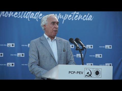 Carlos Pinto Sá: Apresentação da candidatura CDU a Évora