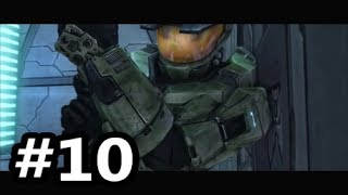 Halo Combat Evolved Anniversary: Campaign - Part 10 - Meeting the Flood for the First Time.
