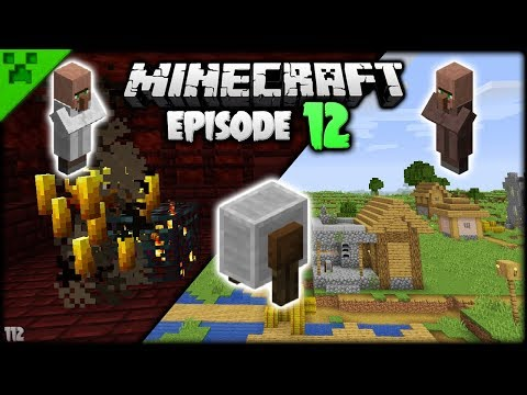 NEW MINECRAFT VILLAGES & GRINDSTONE | Python's World (Minecraft Survival Let's Play S2) | Episode 12