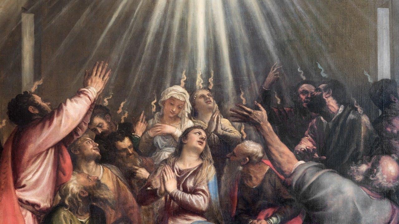 La venue de l'Esprit saint Actes 2, 1-11. Antoine Nouis et Florence  Taubmann - YouTube