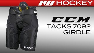 CCM Tacks 7092 Girdle/Shell Combo Review