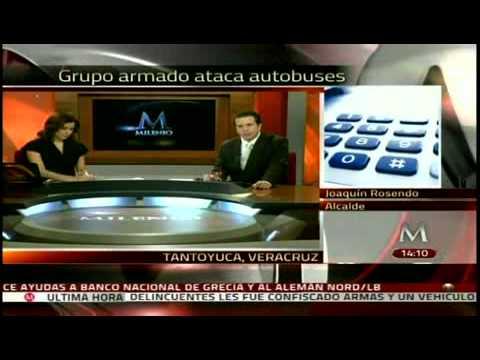 Grupo Armado Ataca Tantoyuca, Panuco y El Higo Veracruz Se Presume Mas De 20 Muertos 22-12-11