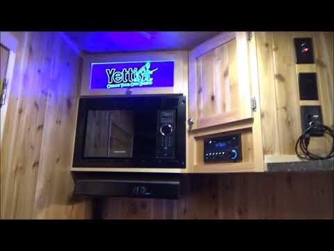 2018 Yetti Grand Escape GE821-PKF Travel Trailer Fish House for sale ~ Mankato, MN