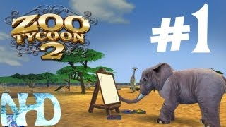Let's Play Zoo Tycoon 2(part1)First Animals