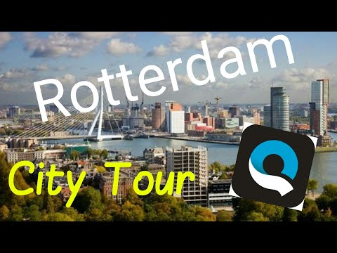 Rotterdam, The Netherlands.. GoPro Quik City Tour..
