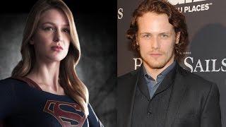 supergirls melissa benoist and outlanders sam heughan romance movie