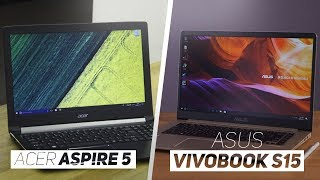 ASUS Vivobook S15 VS Acer Aspire 5 2018! - Which Is The Best Mid Range Laptop?