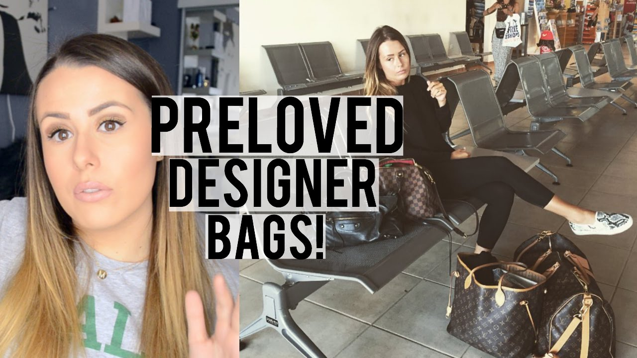 WHERE   HOW TO BUY PRE-LOVED OWNED DESIGNER BAGS! - YouTube 2880c404ee17